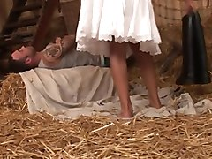 Farm, Footjob, Xhamster