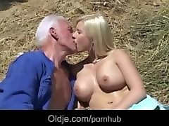 Bus, Blonde, Farm, Pornhub