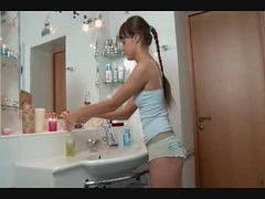 Bath, Bathroom, Cute, Russian, Xhamster